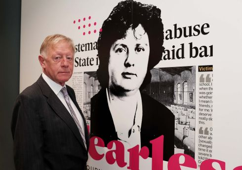 At DCU's O'Reilly Library for the unveiling of an exhibition of the journalism of the late Mary Raftery was David Waddell, her husband.  Photograph: Julien Behal