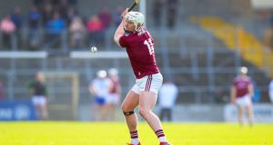 Galway's Joe Canning will aim to return at some stage in the Leinster championship. Photograph: Tommy Dickson/Inpho