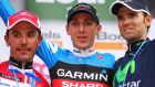 Ireland's Dan Martin celebrates after winning the Liège-Bastogne-Liège cycle road race in 2013 in  Belgium. File photograph:  Bryn Lennon/Getty Images