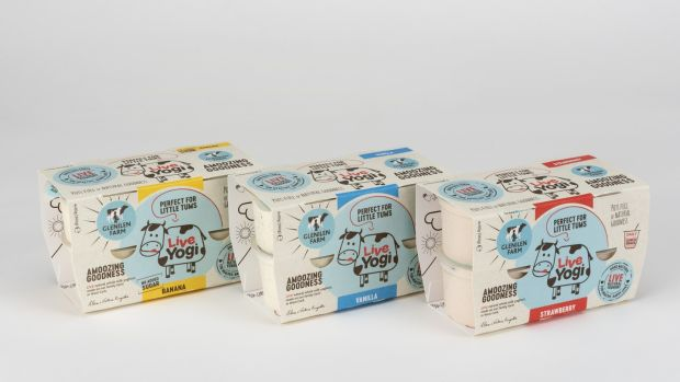 Live Yogi is a live, natural, whole milk product, with just 1.5 per cent added sugar.