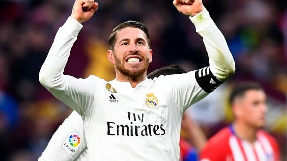 Real Madrid's decorated captain Sergio Ramos: A winner but at what cost? Photograph: Gabriel Bouys/AFP/Getty Images