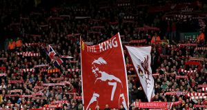 'King' Kenny Dalglish, still fondly remembered on the Kop at Anfield. However my childhood dreams of one day sharing a  pitch at Liverpool with him soon evaporated.  Alex Livesey /Getty Images
