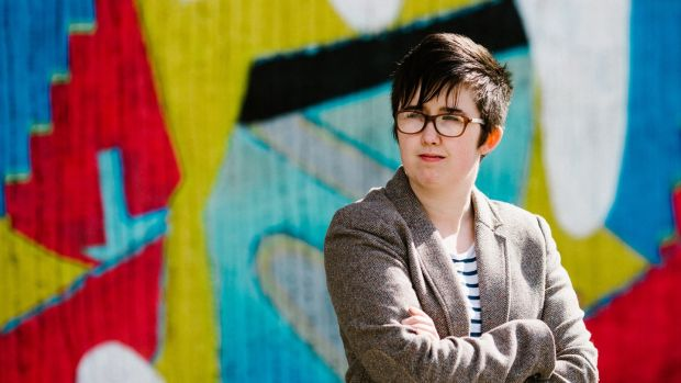 Journalist Lyra McKee was killed during riots in Derry. Photograph: Jess Lowe/EPA