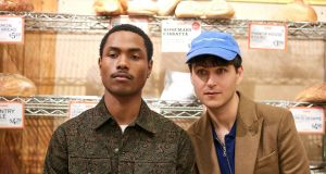 Steve Lacy, who contributes to new Vampire Weekend album  Father of the Bride, and Ezra Koenig