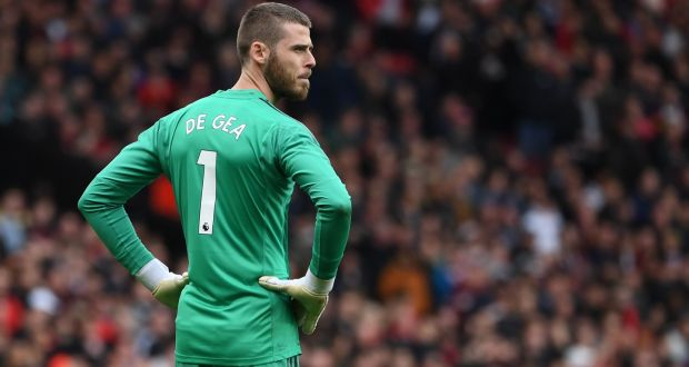cheap for discount d4acf e3757 Solskjær sticks by De Gea who is 'not the reason we're sixth'