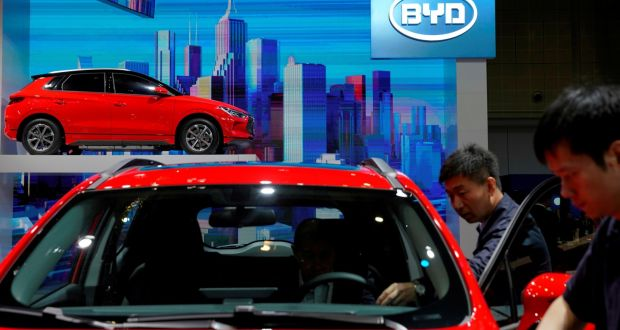 Chinese electric car maker BYD's Q1 profit up 632%