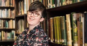 Lyra McKee: she was committed to recovering the lost stories of boys whose lives had not been deemed worthy of serious investigation. Photograph: AFP/Getty Images