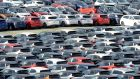 The Brexit-related slide in sterling has made it cheaper to buy used cars in the UK and import them into the Republic. Photograph: Alan Betson/The Irish Times