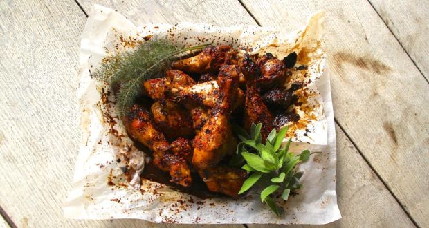 Sweet sesame and sherry drumsticks