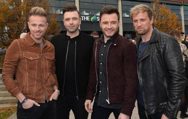 Westlife hit Croke Park to mark 20 years of performing. Photograph: Colm Lenaghan /Pacemaker Press
