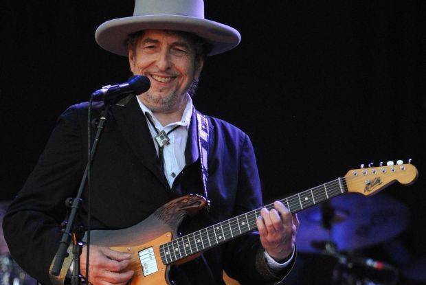 Fans are expected to travel from all over the world to see Bob Dylan (pictured ) and Neil Young play Kilkenny's Nowland Park. Photograph: Fred Tanneau/AFP/Getty