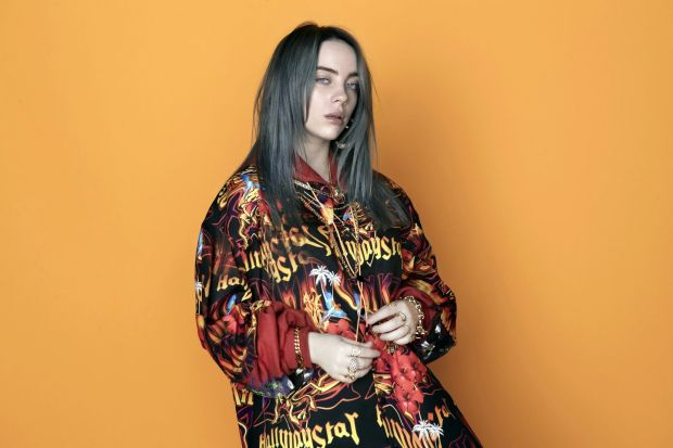 Billie Eilish is sure to draw a huge crowd at Electric Picnic. Photograph: Kenneth Cappello/Universal Music