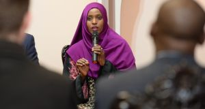 Ifrah Ahmed   said FGM was not just a women's issue, it was everyone's issue. Photograph: Cyril Byrne / THE IRISH TIMES