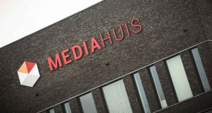 The Mediahuis headquarters in Antwerp, Belgium. The group  employs 3,200 staff, and last year generated a turnover of €819m