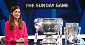 RTÉ have announced their Sunday Game schedule for the summer of 2019, which is hosted by Joanne Cantwell. Photograph: James Crombie/Inpho