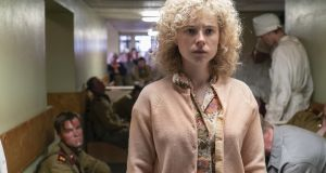 Chernobyl drama: Irish actor Jessie Buckley portrays Lyudmilla Ignatenko, whose husband Vasily was one of the first firefighters on the scene of the 1986 disaster