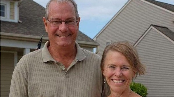 Jim Baker, who was killed in a car crash with his wife Debbie who was seriously injured.