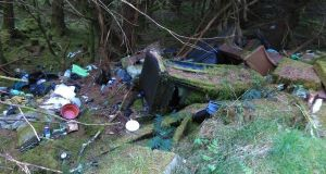 Illegal dumping: Coillte has spent more than €2 million in the past five years  dealing with illegal dumps on its lands.