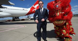 Qantas chief executive Alan Joyce. Photograph: Peter Parks/AFP