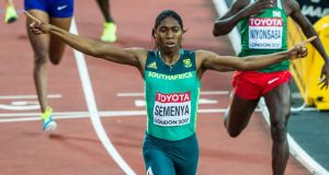 Caster Semenya has lost her legal battle with the IAAF over testosterone levels. Photograph: Morgan Treacy/Inpho