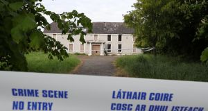 The derelict house on the Clonee Road, Lucan where the body of  Anastasia  Kriegél was found. Photograph:  Colin Keegan, Collins Dublin.