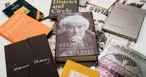 A selection of 50 rare and signed works by 1995 Nobel Literature laureate Seamus Heaney will be offered at the Victor Mee auction.