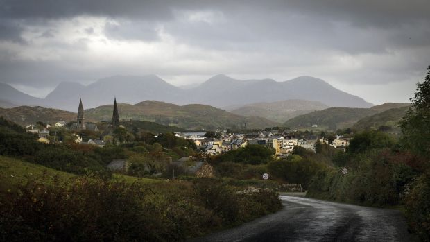 A view of the town of Clifden from the Sky Road in 2014. Photograph: Bill O'Leary/The Washington Post via Getty Images