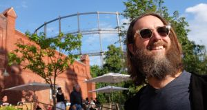 Sobering experience?: Greg Koch at Stone Brewing in Berlin in 2016. Photograph: Adam Berry/Getty