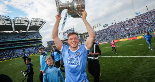 9b57753bb182 Paul Flynn lifting the Sam Maguire in 2017. He won six All-Ireland medals