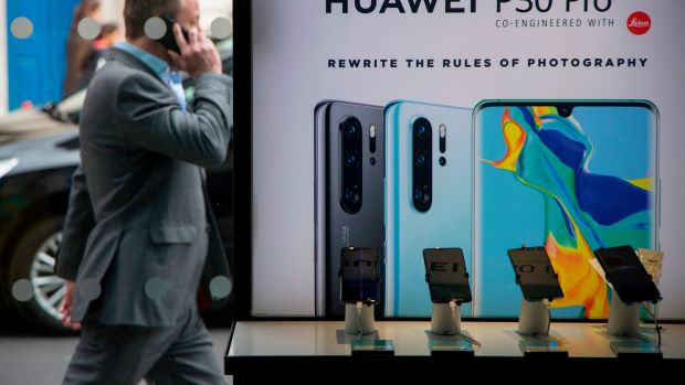Huawei has repeatedly denied these allegations, saying it is owned by its employees and wouldn't spy on its customers. Photograph: AFP
