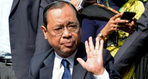 Ranjan Gogoi has rejected the allegations as 'baseless'. Photograph: Reuters/Stringer/File