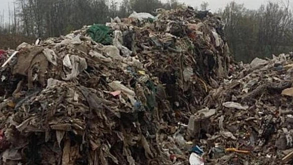 More than 600 tonnes of industrial and domestic waste were dumped in the isolated forests in an area covering parts of counties Meath, Cavan and Monaghan.