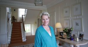 Bella Huddart at Sandbrook House in Co Carlow: 'A good first impression is key.' Photograph: Nick Bradshaw for The Irish Times