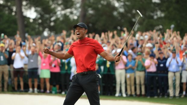 Roriy McIlroy believes Tiger Woods could have another 10 years at the top after his US Master win. Photograph: Andrew Redington/Getty