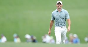 Rory McIlroy will use the Wells Fargo Championship as preparation for the US Open. Photograph: David Cannon/Getty