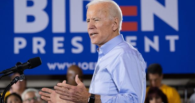 He can kiss me on the head any day': 'Uncle Joe' Biden goes home