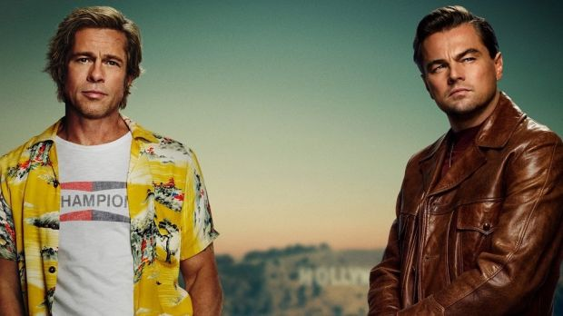 Leonardo Di Caprio plays a TV star – based on Burt Reynolds – struggling to make a career in movies. Brad Pitt plays his stunt double