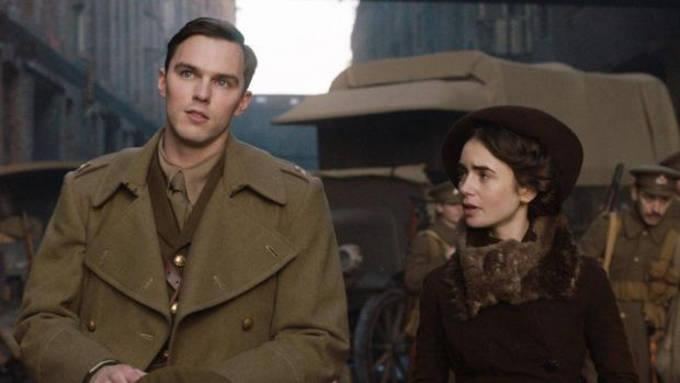 New this week: Nicholas Hoult and Lily Collins in Tolkien