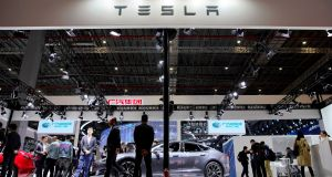 Tesla's shares have plunged almost 30 per cent this year as investors have become significantly more bearish on the one-time high flyer. Photograph: Reuters