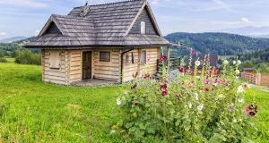 The problem with log cabin designs is that these are typically Alpine in style. Aspects of the house may not fit in with our vernacular style. Photograph: iStock
