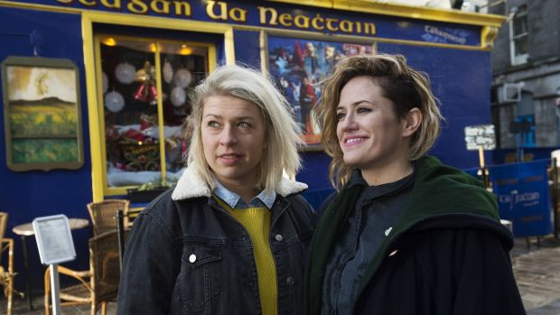 Gosia Letowska and Sheena Dignam of Galway Food Tours