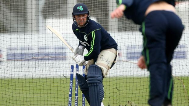 Gary Wilson has returned to the Ireland squad for the England One-Day International after being diagnosed with a condition that affected his vision and missing the winter campaign. Photograph: James Crombie/Inpho