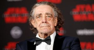 British actor Peter Mayhew at the world premiere of Star Wars: The Last Jedi in Los Angeles in December 2017. Photograph: Danny Moloshok/Reuters/File Photo
