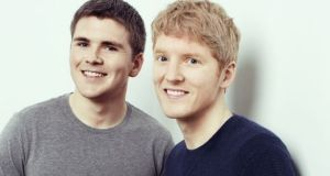 Stripe founders John and Patrick Collison