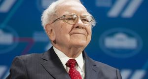 Investment marks a further shift away from Warren Buffett's earlier policy of avoiding investing in technology companies. Photograph: AFP