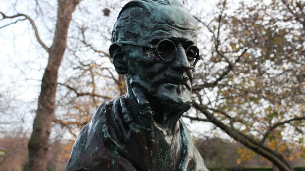 A bust of James Joyce in St Stephen's Green, Dublin. Photograph: Amy T Zielinski/Getty Images