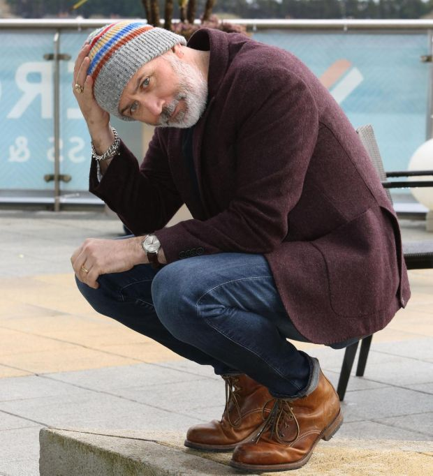 Tommy Tiernan: 'It's so unpredictable, there's more space around the conversation. Maybe that's why people like it,' the comedian says of his RTÉ chatshow. Photograph: Joe O'Shaughnessy