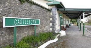 Ballyglunin railway station, Co Galway, named Castletown in The Quiet Man film. Photograph: Joe O'Shaughnessy.