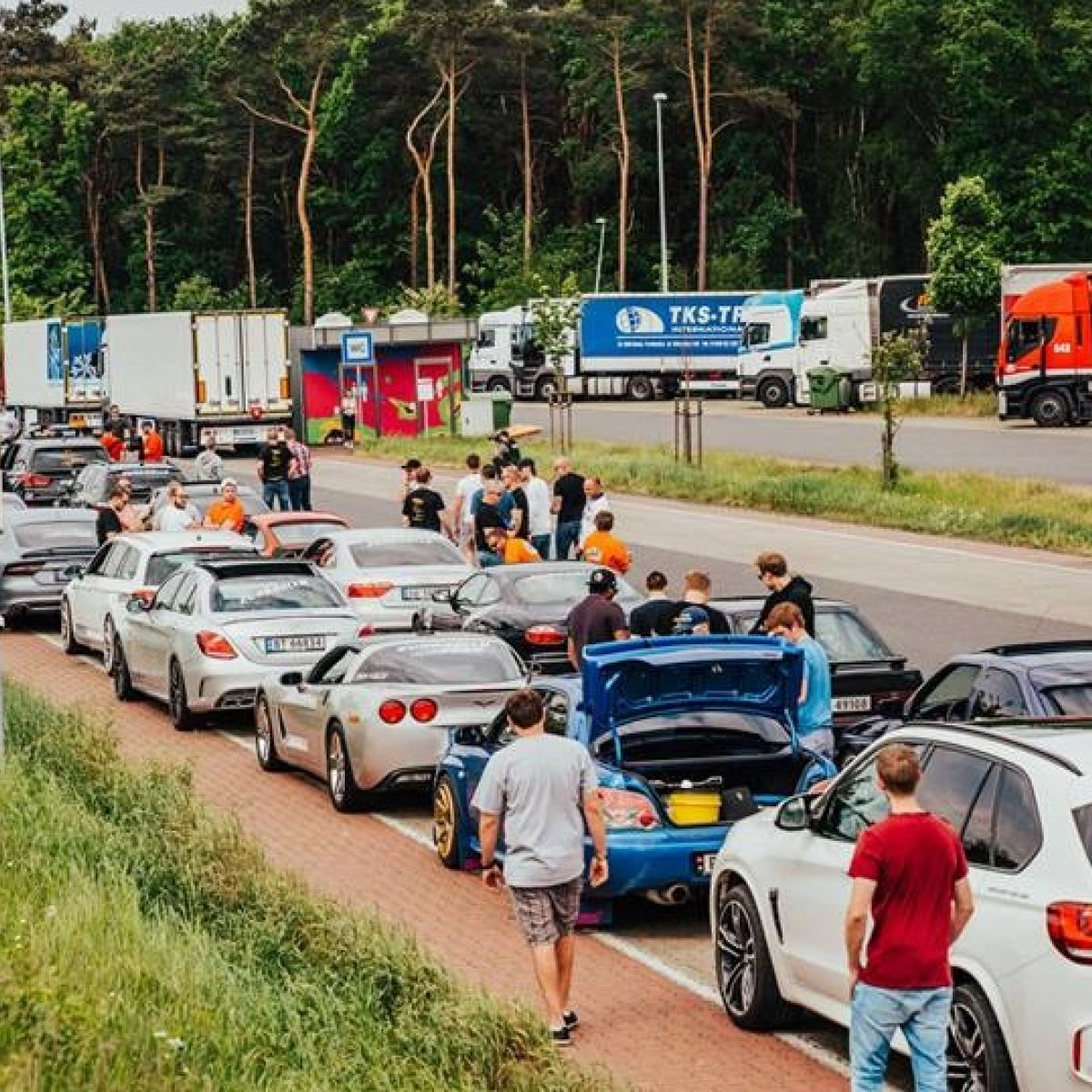 Germany police seize 120 sports cars during Eurorally 'race'