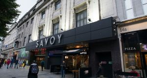 The Savoy cinema on O'Connell Street, Dublin. Photograph: Dave Meehan